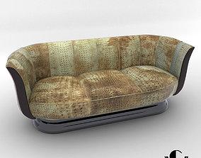 Sofa - Art Deco style - Design from Cygal Art Deco 3D