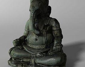 Hindu Statue - Ganesha 3D