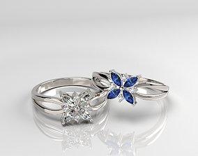 Flower Ring print model