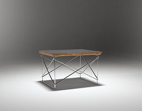 3D model Eames Wired Low Table
