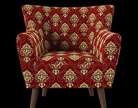 3D model Sofa classic pattern