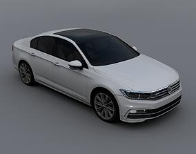 Volkswagen Passat B8 2016 R-Line 3D model