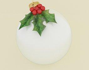 cane 3D model christmas ball