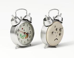 Pecking Chicken Wind Up Alarm Clock 3D