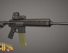 Koch HK 416 - Weapons 3D model
