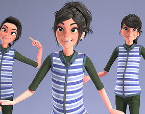 TOON GiRL 2 - RiGGED 3D