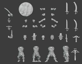 Witch Hunters Set 1 3D print model