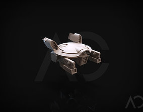 Gun Drone AC 3D printable model