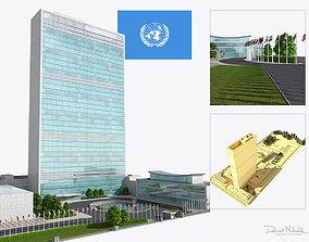 United Nation Headquarter 3D model