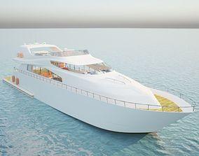 3D asset Yacht