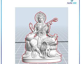Saraswati Idol 3D Printable model