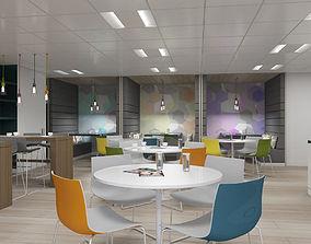 Office Interior 40 3D