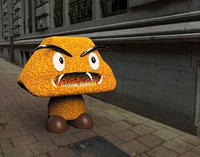 Goomba 3D asset