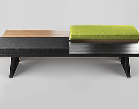 3D bench Groove by Porro