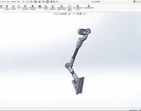 Back Mounted Gimbal Arm 3D print model