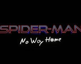 Spider man no way home - 3D Title - FREE