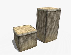 Hesco barrier Pack 3D model