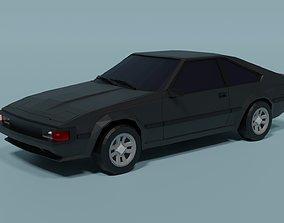 3D asset Toyota Celica Supra
