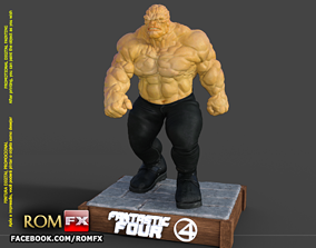 The Thing Fantastic Four - Ben Grimm - Printable