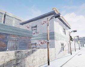 3D asset Favela