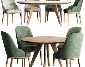 Sfer Table ROB Chair 3D