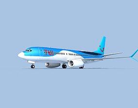Boeing 737-800 Max TUI fly Deutschland 3D model