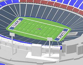 3D print model buffalo Buffalo Bills - Bills Stadium