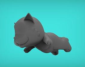3D print model Cat Tired