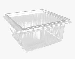 3D Plastic Container 3