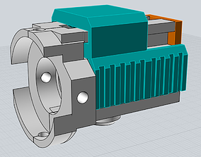 3D print model MP7 Hop Up Chamber BAD Airsoft Junkiez HP