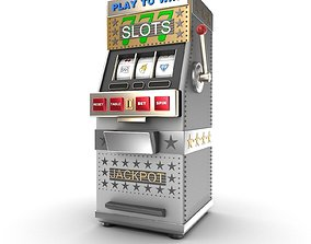 3D A slot machine or gamble machine