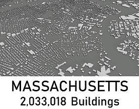 game-ready Massachusetts - 2033018 3D Buidlings