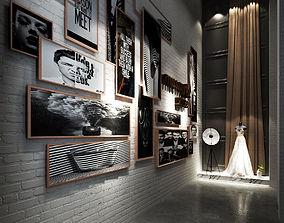 Photostudio Concept Cultural Wall 3D
