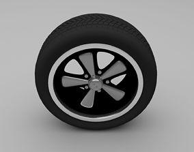 3D model Porsche Wheel