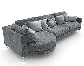 244-Sofa FAMA Opera var 4 3D model
