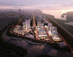3D City business center