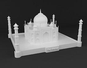 Taj Mahal 3D Print Ready Model