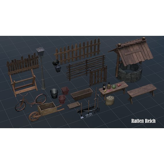 Props for Ratten Reich game