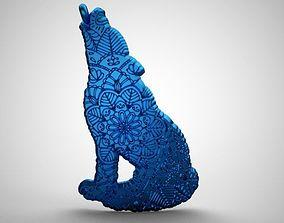 3D printable model Wolf Pendant