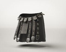 Roman Militar Gladiator Armor War Skirt 3D model