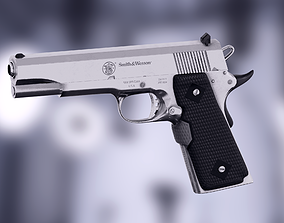 Handgun Smith and Wesson 1911 3D model