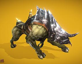 3D model RPG Hyena 3