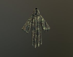 Camouflage Low Poly 3D asset