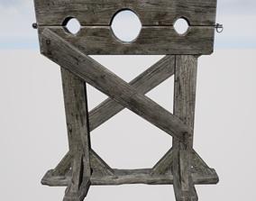 3D model Torture Stocks