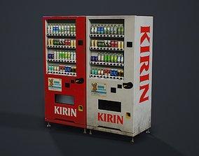 Japanese Vending Machine - PBR Game Ready 3D model