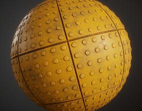 3D model Tactile Pavement material