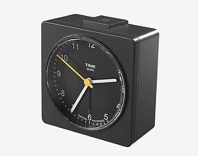 3D asset realtime Low-poly Alarm Clock