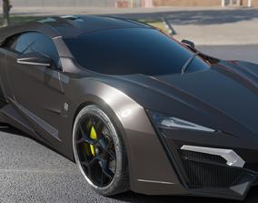 3D W Motors Lykan HyperSport