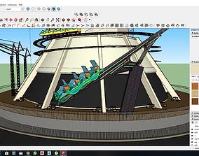 Stratosphere Casino Sketchup Model