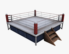 Boxing Ring 3D asset